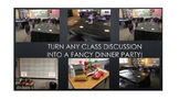 Fancy Dinner Party Class Discussion - any topic, any subject!