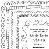 Doodle Border Set #3