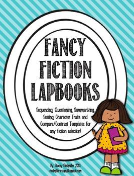Fancy Fiction Lapbook Pack {File Folder, Flippy Book}