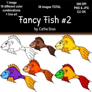 Fancy Fish Clip Art #2