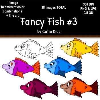Fancy Fish Clip Art #3