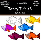 Fancy Fish Clip Art #3