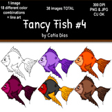Fancy Fish Clip Art #4