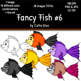 Fancy Fish Clip Art #6