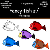 Fancy Fish Clip Art #7