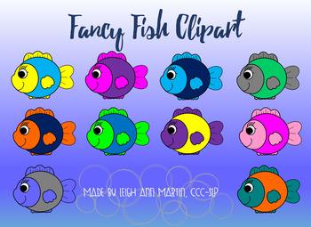 Fancy Fish Clipart