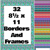 Fancy Floral Borders and Frames
