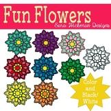 Fancy Flower Clipart