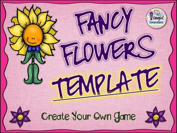 Fancy Flowers Template  - Create Your Own Game