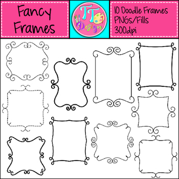 Fancy Frames Clip Art Cu OK