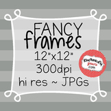 Fancy Frames ~ Digital Paper