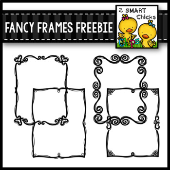 Fancy Frames FREEBIE by 2 SMART Chicks | Teachers Pay Teachers