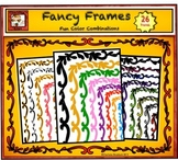Fancy Frames with lots of Frills and Colors - Clip art Borders