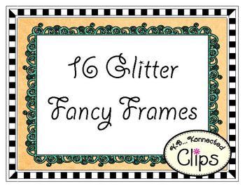 Fancy Glitter Frames