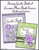 Fancy Grade Book & Lesson Plan Book Covers