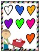 Fancy Heart Facts File Folder Game -- Addition & Subtraction 1-15