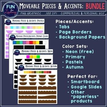 Fancy Moveable Pieces & Accents {BUNDLE}