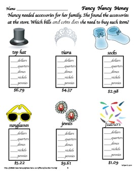 Fancy Nancy Activities for Reading and Math