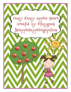 Fancy Nancy Apples Galore Activity
