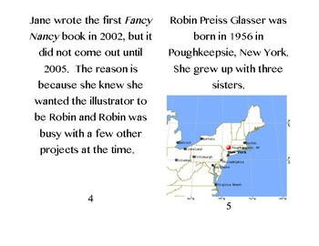 Fancy Nancy Author Biography: Jane O'Conner and Robin Preiss Glasser
