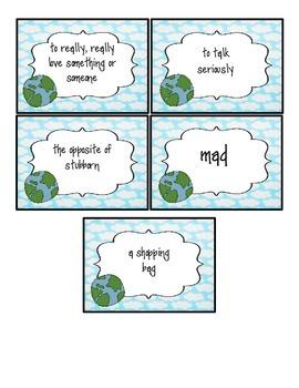 Fancy Nancy Earth Day!