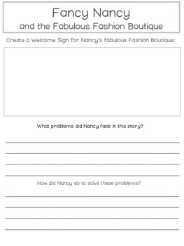 Fancy Nancy: Fabulous Fashion Boutique
