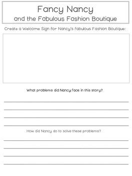 Fancy Nancy: Fabulous Fashion Boutique