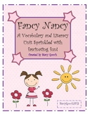Fancy Nancy Literacy Unit with Common Core Standards