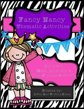 Fancy Nancy Mini Unit