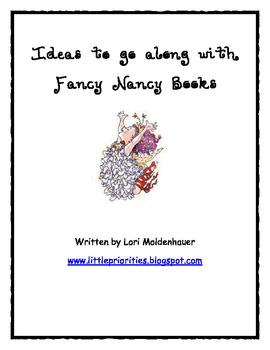 Fancy Nancy Mini-lessons