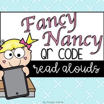 Fancy Nancy QR Code Read Alouds
