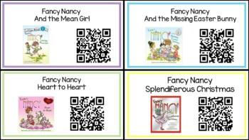 Fancy Nancy QR Read Alouds