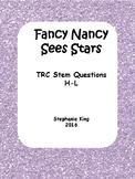 Fancy Nancy Sees Stars TRC Practice Questions
