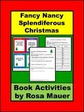 Fancy Nancy, Splendiferous Distance Learning School or At Home