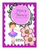 Fancy Nancy Guided Reading Unit