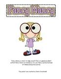 Fancy Nancy Words