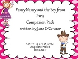 """""""Fancy Nancy and the Boy from Paris"""" Book Companion"""