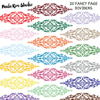 Fancy Page Dividers
