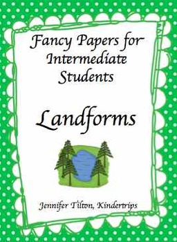 Writing Papers for Intermediate Students-Landforms