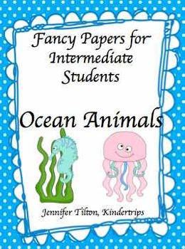 Writing Papers for Intermediate Students-Ocean Animals