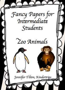 Writing Papers for Intermediate Students-Zoo Animals