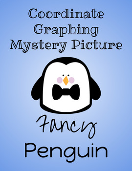 Fancy Penguin Coordinate Graphing Mystery Picture