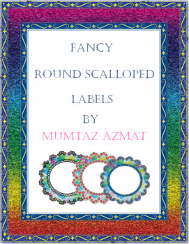 Fancy  Round Scalloped Frames