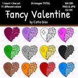 Fancy Valentine Clip Art