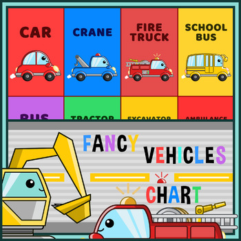 Fancy Vehicles Chart - Rocket