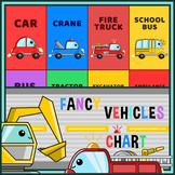 Fancy Vehicles Poster Chart - Rocket