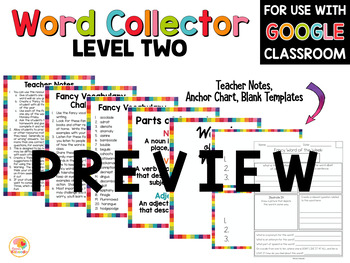 Fancy Vocabulary Words Bundle for 4th-9th Grade