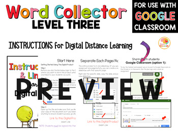 Word Collector Vocabulary Activities: Fancy Words Bundle for 4th-9th Grade