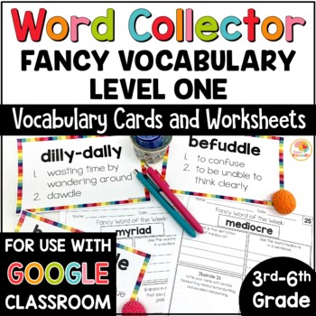 Fancy Vocabulary Words for 3rd-6th Grade
