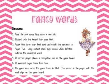 Fancy Words